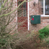 compact delivery postbox outside / outdoor parcel delivery box