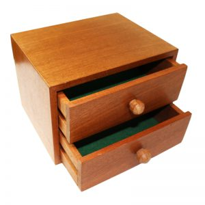 Mahogany Drawer Open