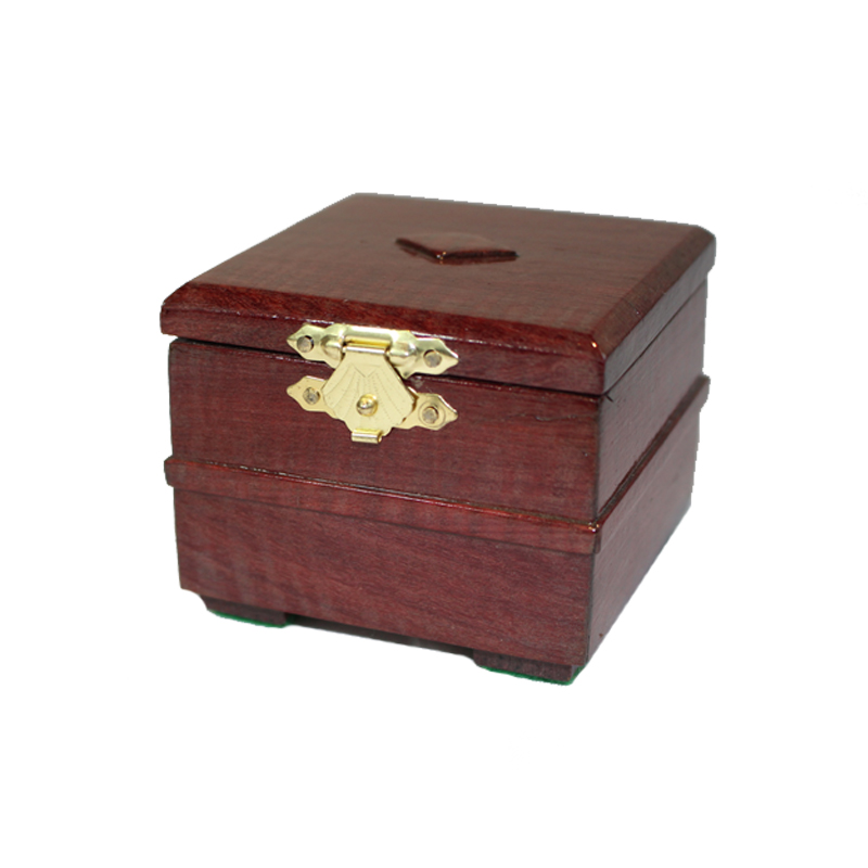 Purple Heart Wooden Trinket Box