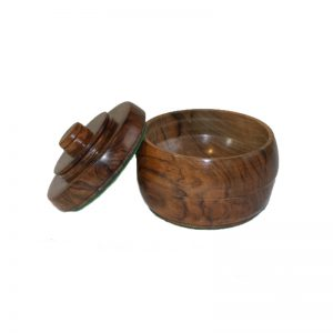 Turkish Walnut Wood Pot