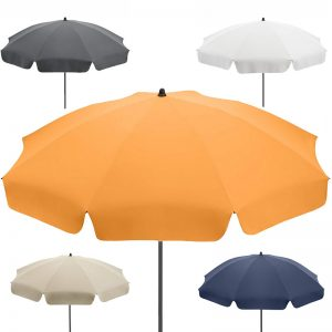 UV Sun Umbrella with Valance in 5 colours