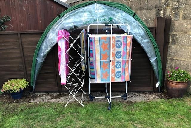 HortiHood Laundry Dome Open