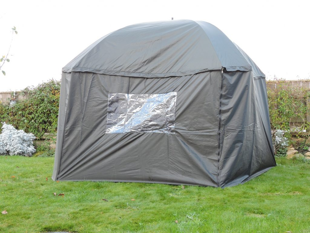 Umbrella Tent with detachable all round wind shelter