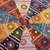 Indian Garden Parasol Design 5 Close-Up 1