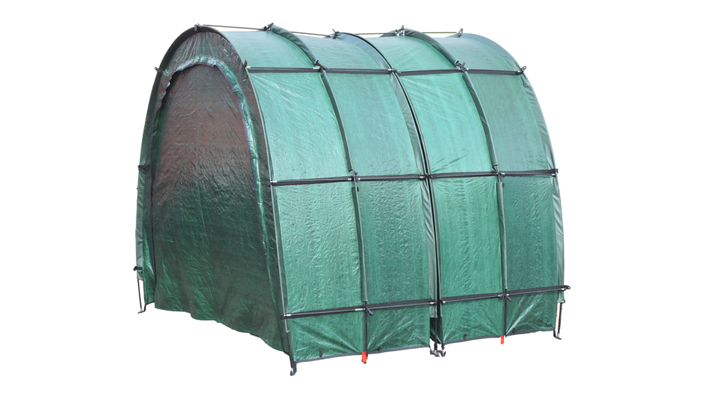 Bike Storage TidyTent TRIO extended closed without hood