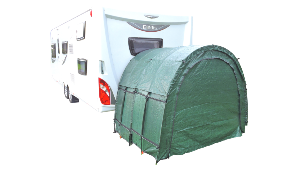 Caravan Outdoor Storage TidyTent TRIO double closed