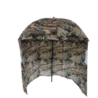 Camo Fishing Umbrella with Wind Shelter