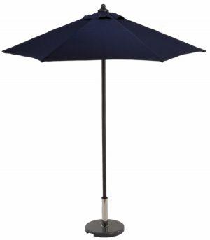 2m aluminium garden parasol