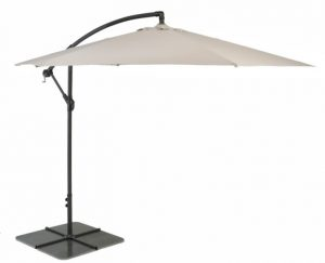 3m cantilever patio umbrella - natural