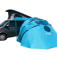 Campervan Awning Tent SheltaPod blue