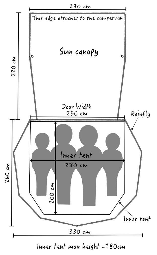 SheltaPod Floor Plan