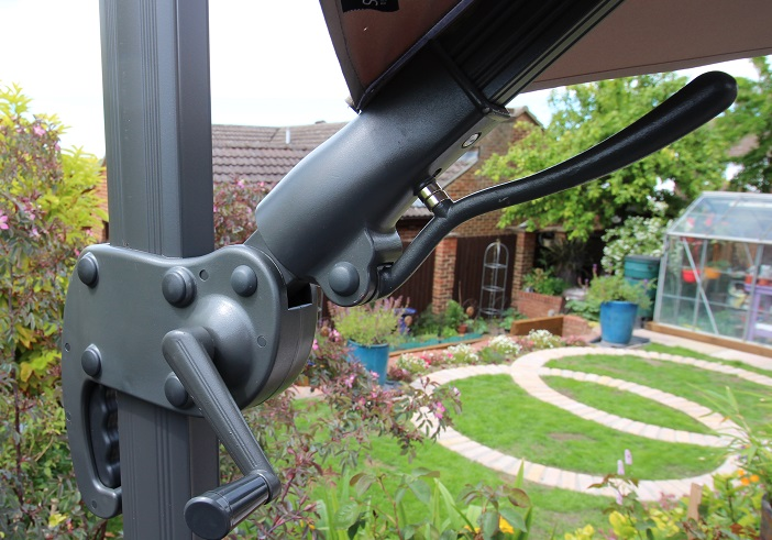 cantilever patio parasol crank handle