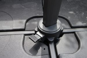 foot pedal operated swivel