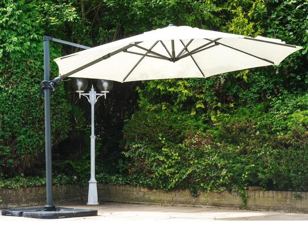 3.5m premium cantilever parasol