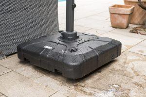100 kg plastic water fill parasol base