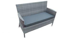 Rattan Weave Garden Bench Seat