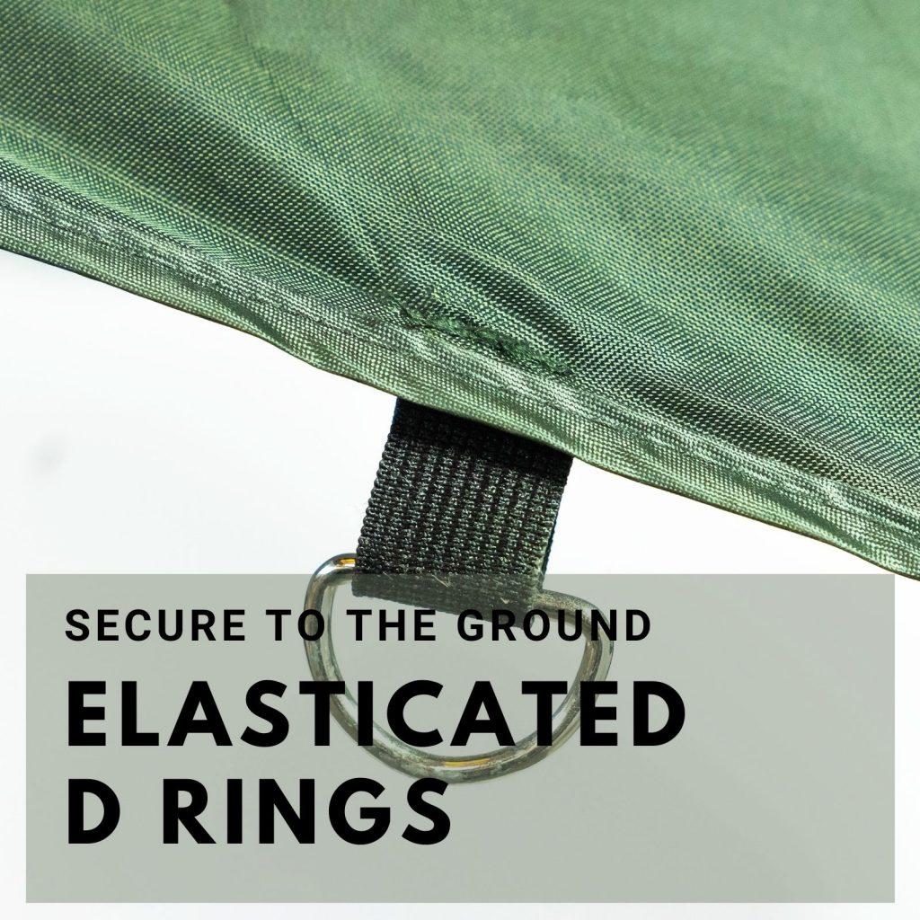elasticated D rings