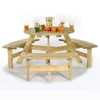 round commercial table