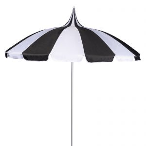 Black and White Pagoda Parasol