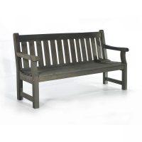 dark grey bench