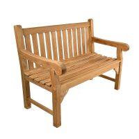 teak patio bench